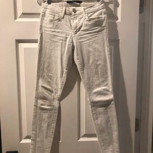 White super skinny jeans